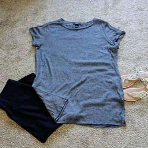 Forever 21 T Shirt Dress XL Cuffed Sleeve EUC